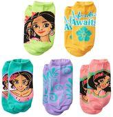 Disney Disney's Elena of Avalor Girls 4-16 5-pk. No-Show Socks