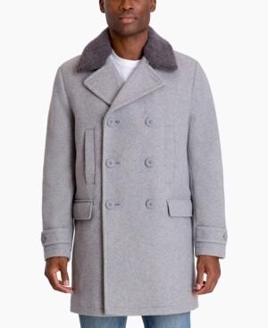 Michael Kors Men's Middlefield Classic-Fit Stretch Plaid Top Coat