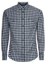 Boss Orange Check Flannel Shirt