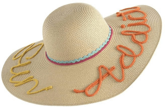 Shiraleah Beach Hair Don't Care Hat in Pink