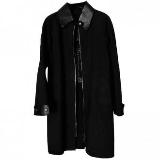 Louis Vuitton Black Cotton Coat for Women