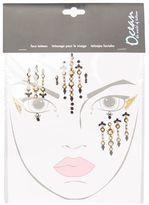 Cleopatra gem face stickers