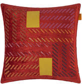 Etro Riolto San Zaccaria Embroidered Cushion - 45x45cm - Red