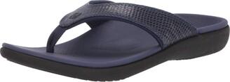 Spenco Women's Yumi 2 Snake Sandal Flip-Flop