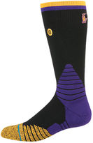 Stance Men's Los Angeles Lakers NBA Logo Crew Socks
