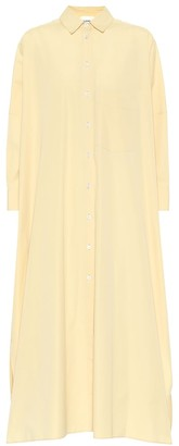 Jil Sander Cotton poplin shirt dress