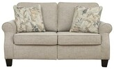 """Thumbnail for your product : Winston Porter Gurnam 61"""" Round Arm Loveseat with Reversible Cushions"""