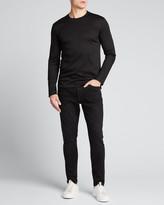 Ermenegildo Zegna Men's Solid Mercerized Interlock T-Shirt
