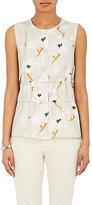Brock Collection Women's Oleander-Print Silk Twill Top