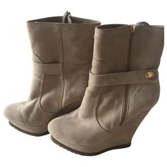 Pura Lopez Beige Other Ankle boots