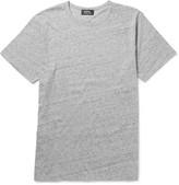 A.p.c. - Mélange Cotton-jersey T-shirt