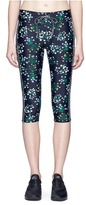 The Upside 'Ditsy Power Pant' floral print cropped performance leggings