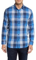 Tommy Bahama Men's Big & Tall Dual Lux Check Sport Shirt