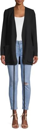 Chloé Oversized Open-Front Jacket