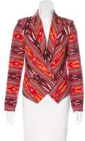 Twelfth Street By Cynthia Vincent Printed Structured Blazer