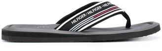 Tommy Hilfiger Logo Strap Flip-Flops