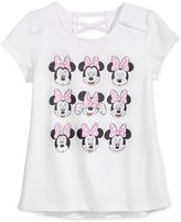 Disney Disney's® Minnie Mouse Graphic-Print T-Shirt, Big Girls (7-16)