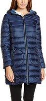 Esprit Women's 076EE1G004 Coat, Blue (NAVY)
