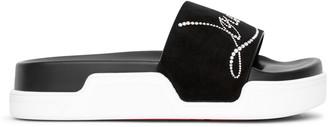 Christian Louboutin Pool Flat slide sandals