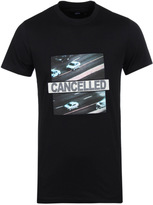 Blood Brother Cancelled Black Crew Neck T-shirt