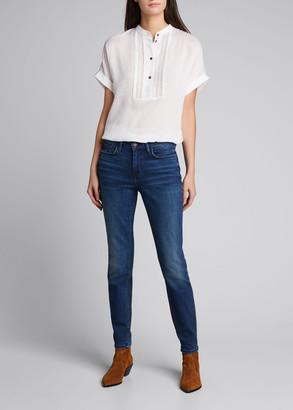 Lafayette 148 New York Mercer Italian Artisanal Denim 12oz Jeans
