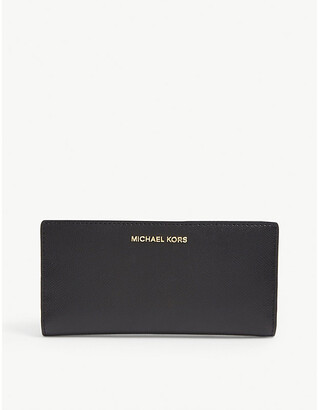 MICHAEL Michael Kors Jet Set leather wallet and card holder