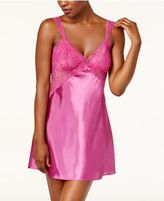 Thalia Sodi Lace-Bodice Satin Chemise, Created for Macy's