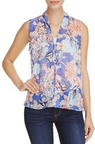B Collection by Bobeau Perry Floral Print Top