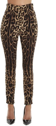 Dolce & Gabbana Animal Print Leggings