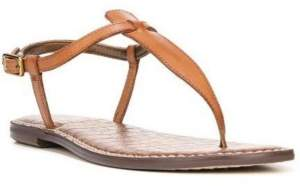 Sam Edelman Gigi T-Strap Flat Sandals Women's Shoes