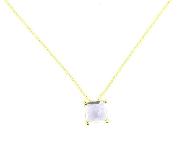 Ippolita Rock Candy 18K Gold Mini Single Square Necklace