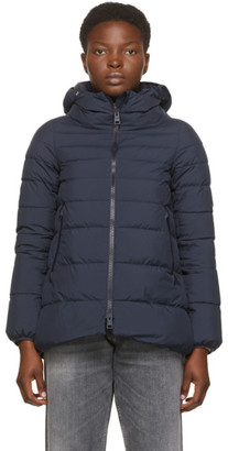 Herno Navy Down Gore-Tex Windstopper Jacket