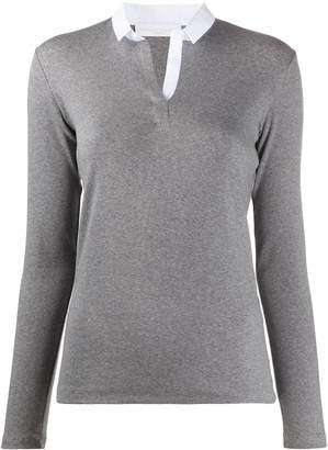 Fabiana Filippi placket knit shirt