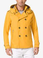 Michael Kors Stretch-Cotton Rain Jacket
