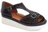 Women's L'Amour Des Pieds 'Audric' Platform T-Strap Sandal