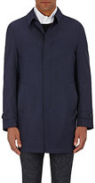 Piattelli MEN'S MICRO-HOUNDSTOOTH TOPCOAT