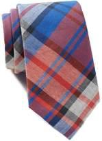 Tommy Hilfiger Rugged Plaid Slim Tie