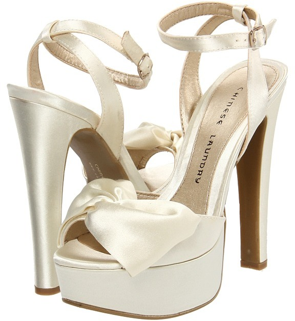 Chinese Laundry Forget You (Ivory) - Footwear