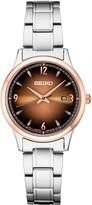Seiko Women's Stainless Steel Classic Dress Watch - SXDH02