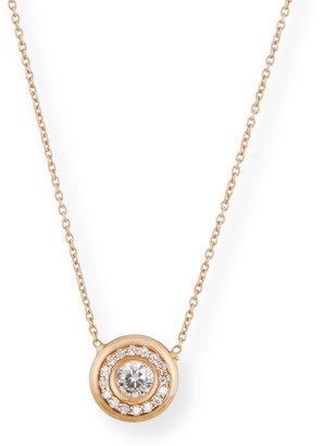 Roberto Coin 18k Gold Pave Diamond Pendant Necklace