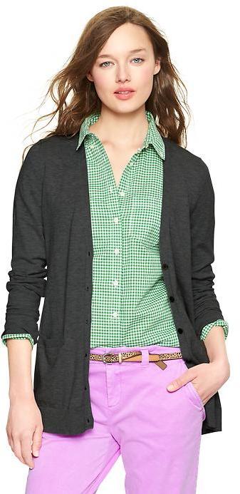 Gap Luxlight V-neck pocket cardigan