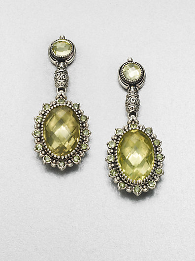 Konstantino Semi-Precious Multi-Stone Sterling Silver Drop Earrings