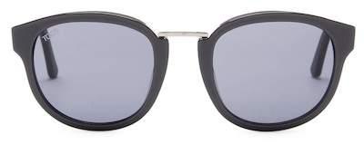 Tod's Women's Round Acetate Frame Sunglasses