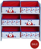 Ladybird 6-Bin Storage - Boys