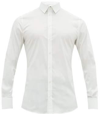 Dolce & Gabbana Johnny Cotton Poplin Shirt - Mens - White