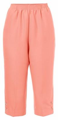 Alfred Dunner Women's Plus Size Classic FIT Capri