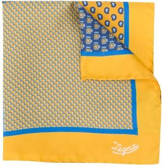 Ermenegildo Zegna Silk Pocket Square Scarf