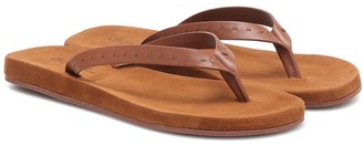 Loro Piana My LP leather thong sandals