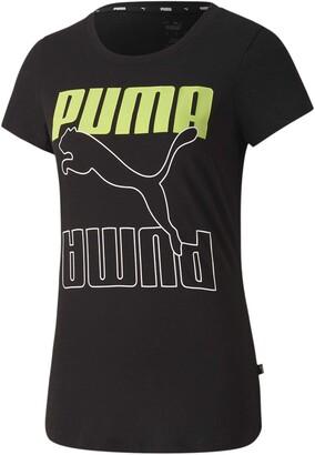 Puma Women's Rebel Graphic TEE