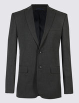 Marks And Spencer Big And Tall Grey Regular Fit Suit
